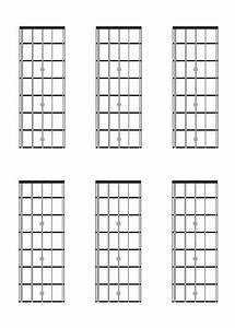 Five String  Bass Guitar  Fretboard Diagrams  Charts
