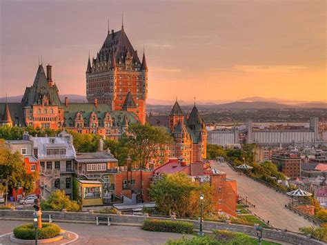 Quebec Castle Bing Wallpaper Download