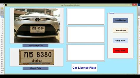 Car License Plate Detection And Recognize Using Matlab