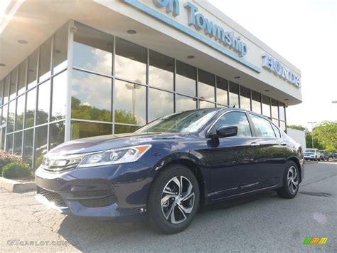 2017 Obsidian Blue Pearl Honda Accord Lx Sedan 122023506