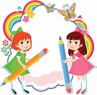 Clipart Handwriting Children Clip Cartoon Center Transparent