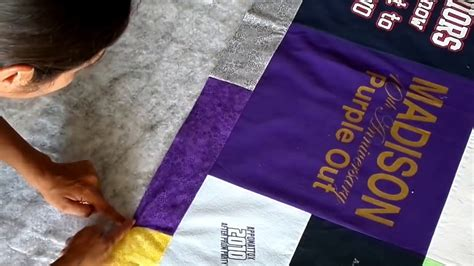 finish   shirt quilt sandwich  binding youtube