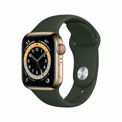 Apple Gps 40mm S6 Stainless Cellular Steel