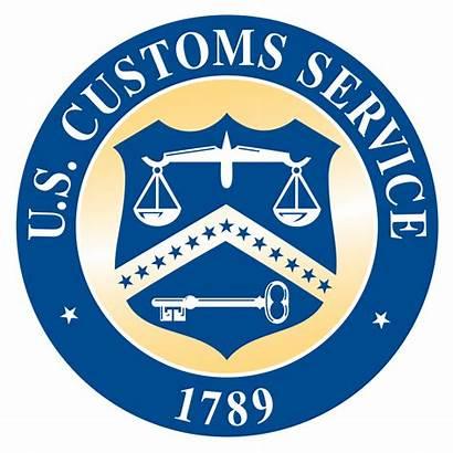Customs Seal States United Svg Cbp Service