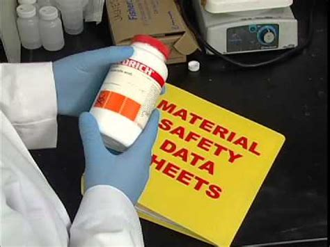 material safety data sheet msds laboratory safety