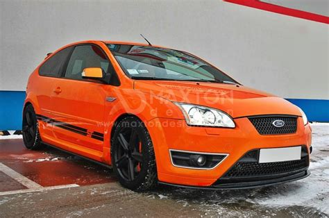 ford focus st mk2 side skirts diffusers ford focus st mk2 scc performance