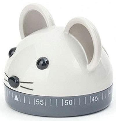 Mouse Kitchen Timer by Kitchen Timer Mouse 60 Minuta Kikkerland Delfi