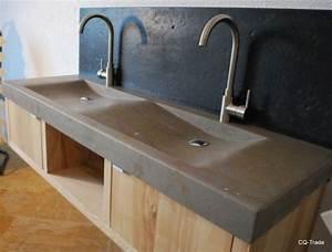 Waschtische Aus Naturstein : doppelwaschtisch naturstein waschtisch marmor granit waschbecken 150x50x8 cm waschbecken ~ Markanthonyermac.com Haus und Dekorationen