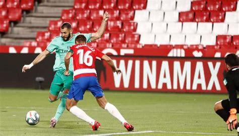 Real Madrid vs Granada: ver resultado, goles, mejores ...