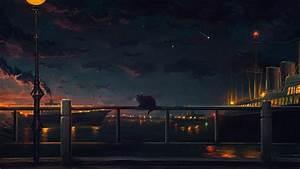 Anime, Landscape, Wallpaper, Hd