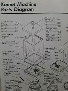 Diagram Parts List For Komet Coin Mechanism A U0026 A Parkway