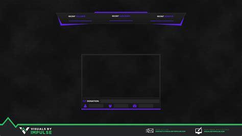 purple zing stream overlay visuals  impulse