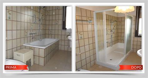 piatto doccia al posto della vasca trasformare la vasca in doccia tante idee e soluzioni per
