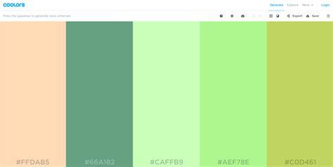 web page color scheme generator  handpicked color palette generators  effective web