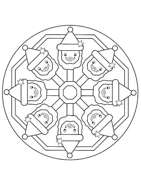 Kleurplaat Mandala Kerst by Kleurplaten En Zo 187 Kleurplaten Mandala Kerstmis
