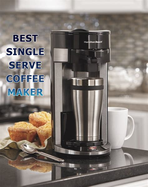Pop in your favorite coffee pod, press a button or two, and you're ready to go. Best Single Serve Coffee Maker