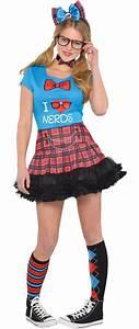 Womenu0026#39;s Geek Chic Nerd Costume Accessories - Party City