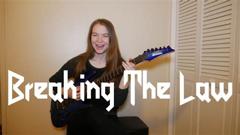 Breaking The Law  Judas Priest (guitar Cover) Youtube