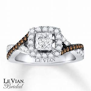 kay le vian bridal chocolate diamonds 14k gold With chocolate diamond wedding ring