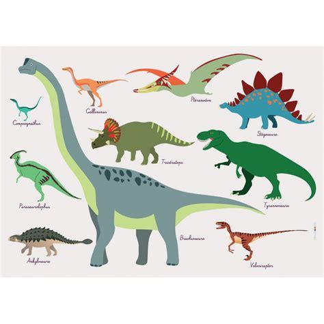 chambre de jeunesse set de table enfant dinosaures