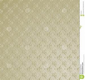 Fleur De Lis Wallpaper Background Stock Vector Image