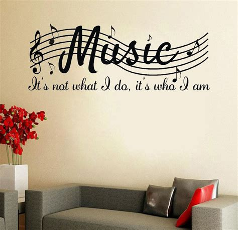 is not wall say quote word lettering vinyl