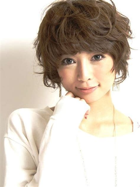 easy short asian curly haircuts latest hair styles