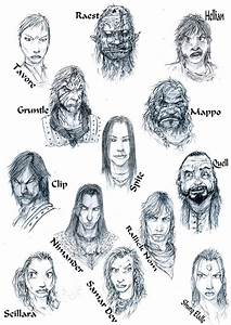 Characters by Slaine69 by Malazan-Art-Guild on DeviantArt