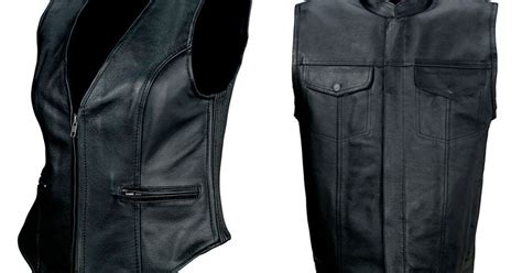 Z1r Leather Vests For Men And Women
