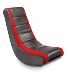 mesh stripe rocker gaming chair