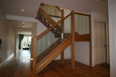 glass stair banister 1000 ideas about glass stair railing on glass