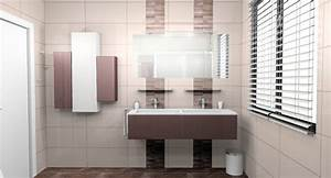 awesome salle de bain taupe et chocolat ideas awesome With faience salle de bain marron et beige