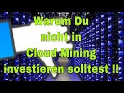cloud mining scam warum bitcoin btc cloud mining scam ist