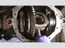 How To Remove a CClip Axle Shaft YouTube