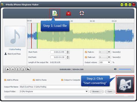 mp3 converter iphone 4media iphone ringtone maker help you convert iphone