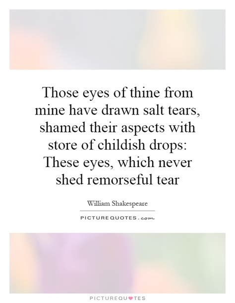 Those Eyes Quotes
