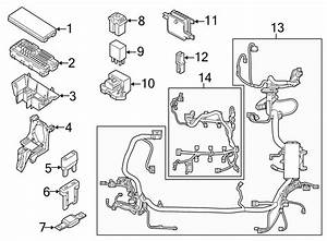 Ford Edge Engine Wiring Harness  Engine Compartment  2 0