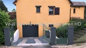 Choisir Couleur Facade Maison : simulateur couleur de facade en ligne rapide et efficace ~ Nature-et-papiers.com Idées de Décoration