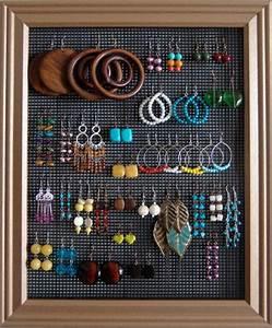 1001idees pour fabriquer un porte bijoux soi meme With comment faire un cadre de porte