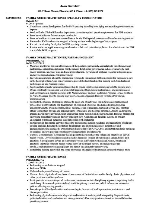 fnp resume examples vvengelbertnl