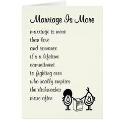 wedding anniversary poems marriage is more wedding anniversary poem card zazzle