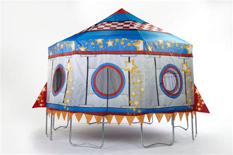 Why not lay and measure rope out on your lawn to get an idea of the room it will use up before you purchase a trampoline online to prevent a surprise when it arrives. JumpPod Rocket Trampoline Protective Cover Only   Shop Your Way: Online Shopping & Earn Points ...