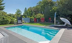 pool und gartengestaltung pool magazin With feuerstelle garten mit balkon mit folie abdichten