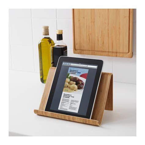rimforsa tablet stand bamboo 26x17 cm ikea