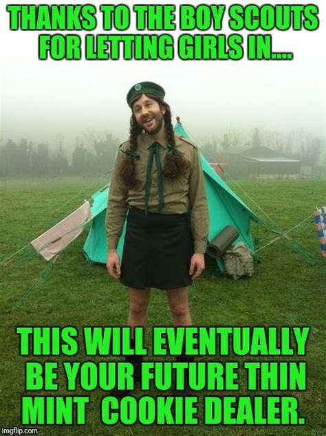 Scout Meme - girl scouts imgflip