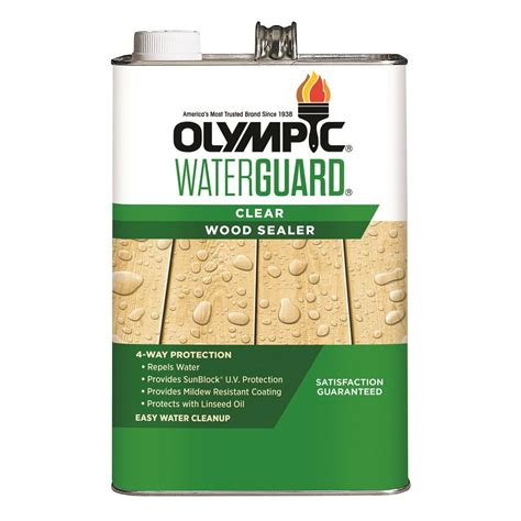 olympic clear sealer   olympic