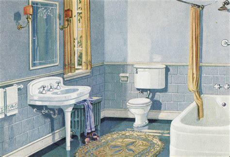 blue gold scheme bathroom crane plumbing fixtures