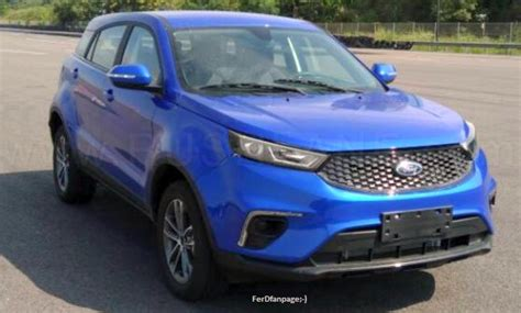 2019 Ford Territory Suv First Images Leaked