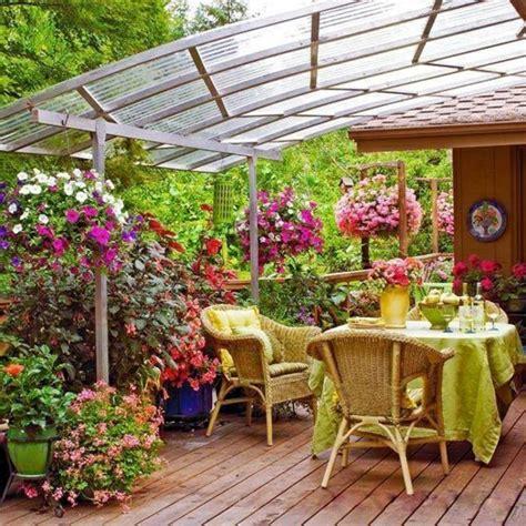 Terrasse Mit Blumen Gestalten by Glasdach Terrassen Als Hit Im Modernen Lebensstil