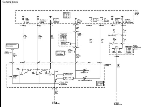 Headlight Switch Wiring Diagram Needed Chevy Trailblazer